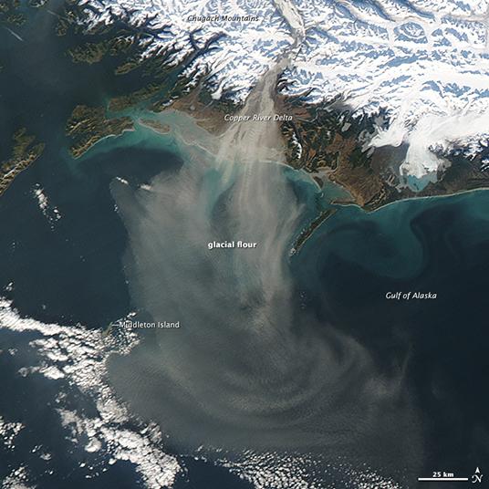 Silty Alaskan Skies